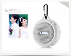 C6 waterproof bluetooth speaker wireless bluetooth audio outdoor sports mini speaker (white) One size