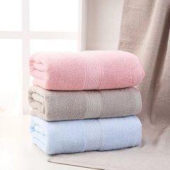 Soft cotton bath towel, couple bath towel does not fade / not lint hotel bath towel ( Beige) 1 piece