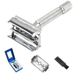 Men's manual razor, the double-sided metal razor (Picture color) 1 piece