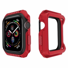 Case Compatible for Apple Watch Series 1 2 3 4,Resistant Shockproof TPU+PC Protective Bumper Cover (pattern 1) 38 mm