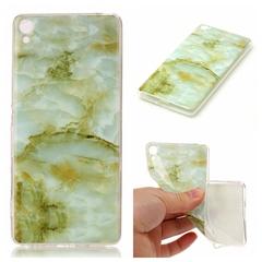 Sony Xperia XA Case Marble,[Ultra-Thin] Flexible Soft TPU Gel Silicone Cove Case (A) For Sony Xperia XA