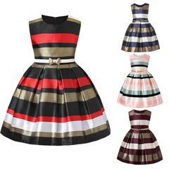 Girls dress high-end striped children's dress (pattern 1) 3/100cm