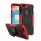 Oneplus 5T Case, 2in1 TPU/PC Combo [Dual Layer] Rugged Heavy Duty Hybrid Armor, [Shockproof] Cover ( red) for Oneplus 5T