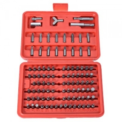 100pcs Chrome Vanadium Steel Bit Diver-bit Electrical Screw Driver Washer Sleeve Combination as picture one size