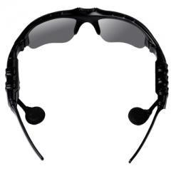 Smart Bluetooth Polarized Sunglasses Glasses Earphones Headphones MP3 Music Player black