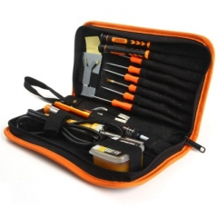 JAKEMY JM-P03 16 in 1 Electric Soldering Iron Flux Kit DIY Welding Tool Set as picture one size