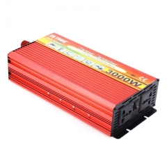 XUYUAN 3000W Solar Car Power Inverter DC 24V to AC 220V Modified Sine Wave Vehicle Mounted Charger