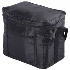 Multi-functional Cloth Insulation Cooler Box Travel Picnic Ice Bag black one size