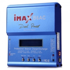 iMAX B6AC LCD Screen Digital RC Lipo NiMh Battery Balance Charger Discharger as picture one size