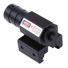 8833 JG 50 - 100 Meters Range 835 - 655nm Pistol Picatinny Weaver Rail Red Dot Laser Sight Scope black