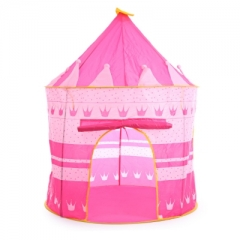 Children Folding Play House Portable Toy Tent Castle Playhut pink one size
