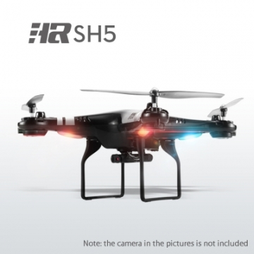 SH5 2.4G 4CH 6-axis Gyro RC Quadcopter 3D Eversion Headless Mode Drone RTF black one size
