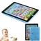 Kids Children English Learning Pad Toy Educational Computer Tablet blue one size