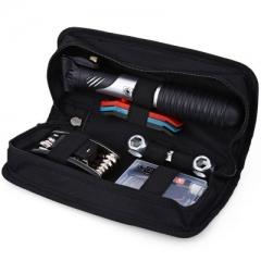 DUUTI Bicycle Folding Tire Repair Multifunctional Kit Set with Portable Repair Tools Bag