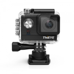 ThiEYE T5e WiFi 4K 30fps Action Camera 12MP Built-in 2 inch TFT LCD Screen Time-Lapse Videos