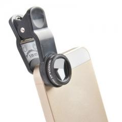 LIEQI LQ - 004 Optical Glass Triangular Prism Lens for Smartphones iPhone 6 Plus iPad Air Samsung black one size