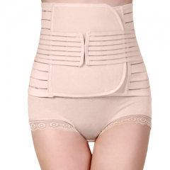 Postnatal Mother Elastic Breathable Recovery Postpartum Girdle Abdomen Waist Belt Maternity Body as picture one size