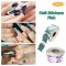 500pcs Nail Stickers  Nail Art Guide Form Nails Paper Holder Acrylic UV Gel Tip Extension Green 500Pcs