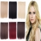 6 Color New Human Hair Wigs 2017 4 One Size