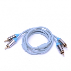 2RCA to 2RCA Jack Male to Male Audio Cable Aux Cable 5m