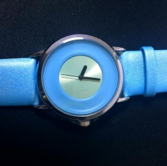 Waterproof young leather watch  SINOBI fashion Student  School Lovers Gift Father Children blue one size