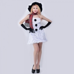 Adult clothing COS (one suit: long skirt + gloves + scarf + skirt) white the average yards