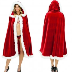 Little red riding hood European and American Christmas Santa Claus gules the average size