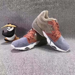 Girls in the increase in sports shoes college students with women running shoes Kung Fu Panda gray 36