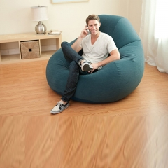 Furniture Inflatable Inflatable Sofa Entertainment Folding Sofa Reduce Work Stress Office Stool green+inflator pump