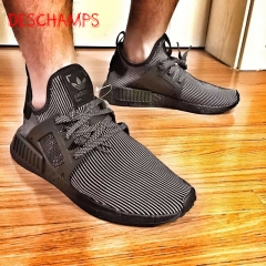 The latest sports shoes NMD XR1 Black Knight soul PK inspired second generation running shoes Black 39
