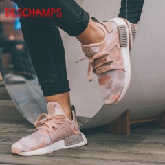 Couples shoes NMD xr1 r2 pk men's shoes fashion shoes Black Knight white couple casual running shoes Pink 39