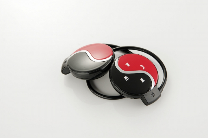 Bluetooth Wireless Headset Stereo Headsets red