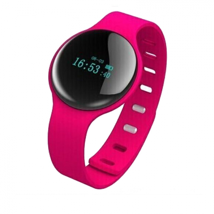 Smartwatch  Sport Pedometer  with Touch Screen Camera  Version Bluetooth for Android IOS Phone red one size