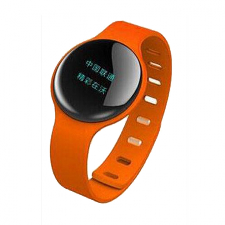 Smartwatch  Sport Pedometer  with Touch Screen Camera  Version Bluetooth for Android IOS Phone orange one size