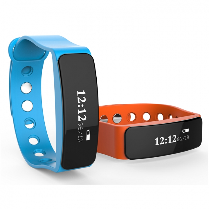 Smartwatch  Sport Pedometer Camera  Version Bluetooth for Android IOS Phone blue one size