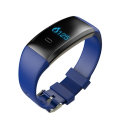health monitoring Bluetooth Sport Bracelet Smart Band Wristband Bluetooth for Android IOS blue one size