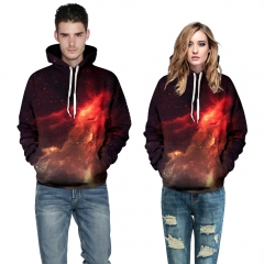 Starry Sky  Flame Design 3D Digital Printed Baseball Jacket Fashion  for Women and Men colorful s/m