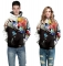 Design 3D Digital Printed Hooded fleece  Jacket Fashion  for Women and Men colorful xxl/xxxl