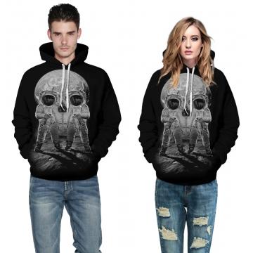 Halloween skulls Design 3D Digital Printed Hooded fleece  Jacket Fashion  for Women and Men colorful s/m