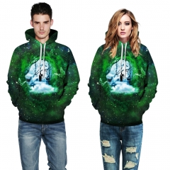 The stars comic Design 3D Digital Printed Hooded fleece  Jacket Fashion  for Women and Men hoodie colorful s/m