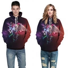 Bright stars Design 3D Digital Printed Hooded fleece  Jacket Fashion  for Women and Men hoodie colorful s/m