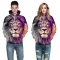 Lion Design 3D Digital Printed Hooded fleece  Jacket Fashion  for Women and Men hoodie colorful l/xl