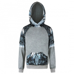 The  fox pattern digital print Design 3D Digital Printed Hooded fleece Fashion for Women and Men colorful s/m
