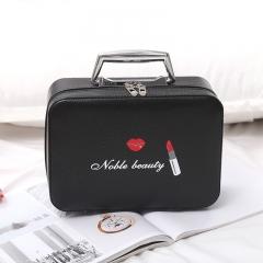 Makeup Bag Contracted Large Capacity Collection Bag Handbag black1 one-size