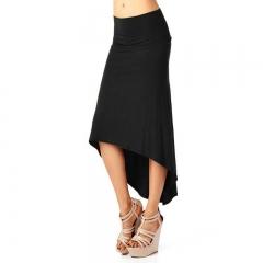 Swallowtail Half Skirt Fashion Women's Clothes Skirt black s