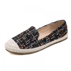 Fashionable Comfortable Women's Shoes Flat Shoes Black 35