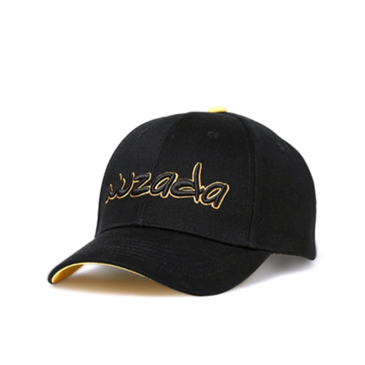 High Quality Embroidered Alphabet Baseball Cap Hip-hop Hat Outdoor Boys  Girls black e21b6cae13df