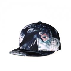 New Flat-eaved Hip Hop Style Trend Individual Hat Simple Trend Baseball Cap black