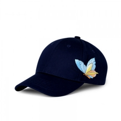 Embroidered Printed Fashion Outdoor Girl's Baseball Cap Sports  Hat Baseball Cap blue