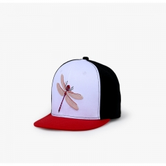 Flat-eaved Hip Hop Style Trend Individual Hat Simple Trend Baseball Cap red